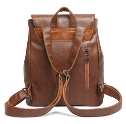Z1830 Women's Vintage PU Leather Backpack