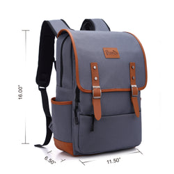 Z1826  Waterproof Laptop Backpack School Bag - YANCAS OFFICIAL