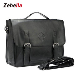 Z1388 Men's Vintage PU Leather laptop Briefcase