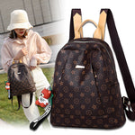 2020New genuine leather cowhide texture soft leather wild ladies fashion backpack - YANCAS OFFICIAL