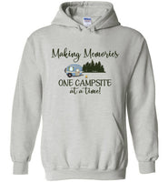 Graphics Inspire Hoodie - Making Memories One Campsite At A Time RV Camping Hoodie