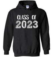 Graphics Inspire - Class of 2023 Graduation Hand Sketched Black Hoodie