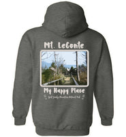 Mt. LeConte My Happy Place Great Smoky Mountains National Park Two-sided Hoodie