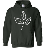 Graphics Inspire - Peace Love Hike Cute Hiker's Hoodie