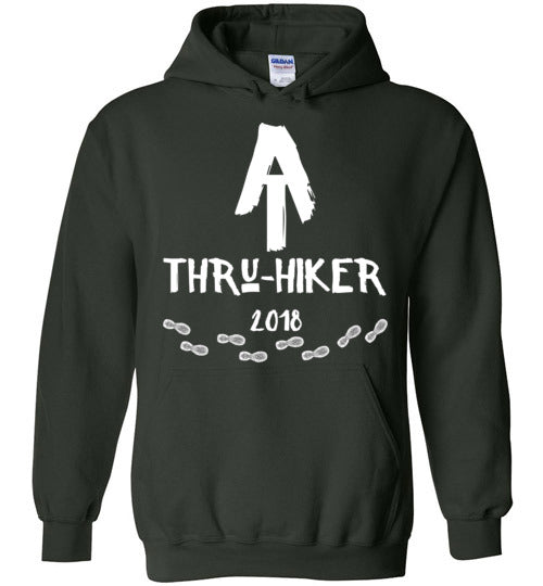 Graphics Inspire Hoodie - Personalized AT Thru-Hiker with YEAR Appalachian Trail Hoodie