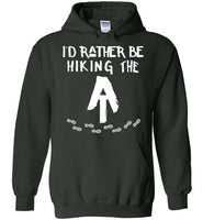 Graphics Inspire Hoodie - I'd Rather Be Hiking The AT Appalachian Trail Hiker Hoodie