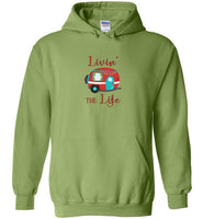 Graphics Inspire - Livin' The Life Camping Life Fun RV Trailer Hoodie