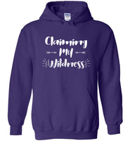 Graphics Inspire - Claiming My Wildness for Women Living Their Authentic Life Hoodie