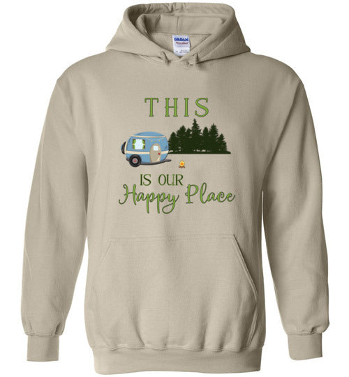 Graphics Inspire -This Is Our Happy Place RV Camping Hoodie