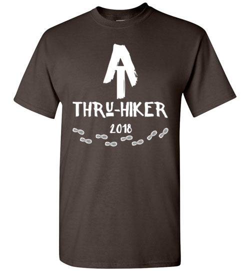 Graphics Inspire - AT Thru-Hiker Completed Appalachian Trail in 2018 Rustic Thru-Hiker T-Shirt