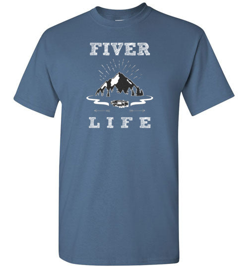 Graphics Inspire T-Shirt - Fiver Life Fifth Wheel RV Camping Life T-Shirt