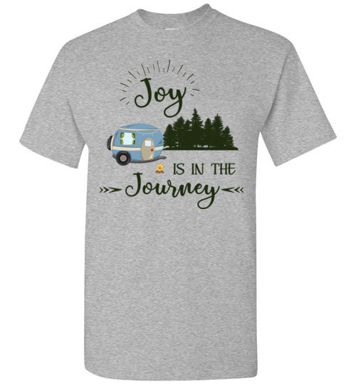 Graphics Inspire T-Shirt -Joy Is In The Journey RV Camping T-Shirt