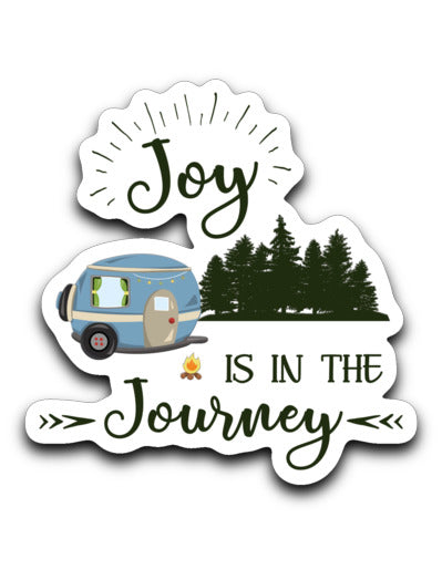 Joy in Journey RV Decal