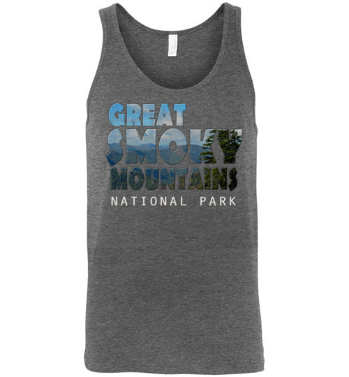 Graphics Inspire Tank - Great Smoky Mountains National Park in Mountain Landscape Premium Tank
