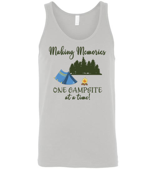 Graphics Inspire Tank - Making Memories One Campsite At A Time Tent Camping Premium Tank