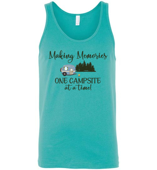 Graphics Inspire Tank - Making Memories One Campsite At A Time Camping Premium Tank