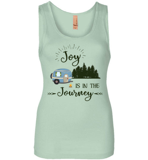 Graphics Inspire Tank - Joy Is In The Journey RV Camping Womens Tank