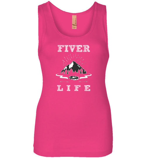 Graphics Inspire Tank - Fiver Life Fifth Wheel RV Camping Life Womens Tank