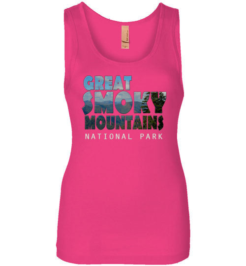 Graphics Inspire - Great Smoky Mountains National Park in Mountain Landscape Womens Tank