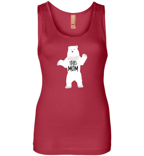 Graphics Inspire - THIS MOM is a Mama Bear Funny Womens Tank