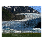 Graphics Inspire - Mendenhall Glacier in Juneau Alaska Keepsake Puzzle in Metal Tin