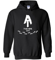 Graphics Inspire Hoodie - Personalized AT Hiker with Trail Name and Year Hiked Appalachian Trail Hoodie