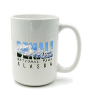 Graphics Inspire Mug - DENALI National Park Alaska Mountain Range Mug