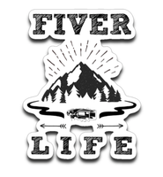 Graphics Inspire Decal -Fiver Life Fifth Wheel RV Camping Die-Cut Decal