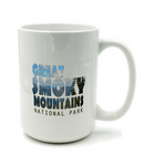Graphics Inspire Mug -Great Smoky Mountains National Park in Mountain Landscape Mug
