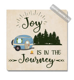 Graphics Inspire Canvas - Joy Is In The Journey RV Camping Canvas Wrap