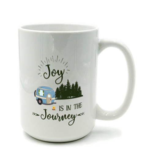 Graphics Inspire Mug - Joy Is In The Journey RV Camping Mug