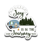 Graphics Inspire Decal - Joy Is In The Journey RV Camping Die-Cut Decal