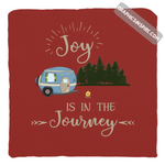 Graphics Inspire Pillow Cover - Joy Is In The Journey RV Camping Red Throw Pillow Cover Only