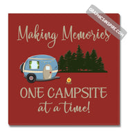 Graphics Inspire Canvas - Making Memories One Campsite At A Time Canvas Wrap