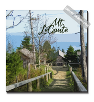 Graphics Inspire Canvas - Mt LeConte in the Great Smoky Mountains National Park Canvas Wrap