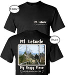 Graphics Inspire T-Shirt - Mt. LeConte My Happy Place Hiking Great Smoky Mountains National Park Two-sided T-Shirt