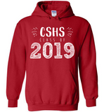 Graphics Inspire Hoodie - Personalize Class of 2019 Graduation Hand Sketched with School Hoodie