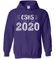 Graphics Inspire Hoodie - Personalize Class of 2020 Graduation Hand Sketched with School Hoodie
