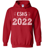 Graphics Inspire Hoodie - Personalize Class of 2022 Graduation Hand Sketched with School Hoodie