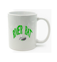 River Rat Whitewater Kayaking Distressed Kayaker's Mug