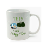 Graphics Inspire Mug - This Is Our Happy Place RV Camping Mug