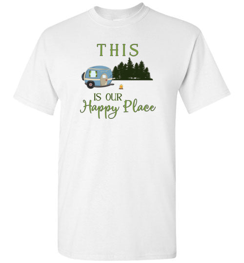 Graphics Inspire - This Is Our Happy Place RV Camping T-Shirt