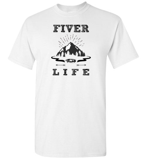 Graphics Inspire T-Shirt - Fiver Life Fifth Wheel RV Camping T-Shirt