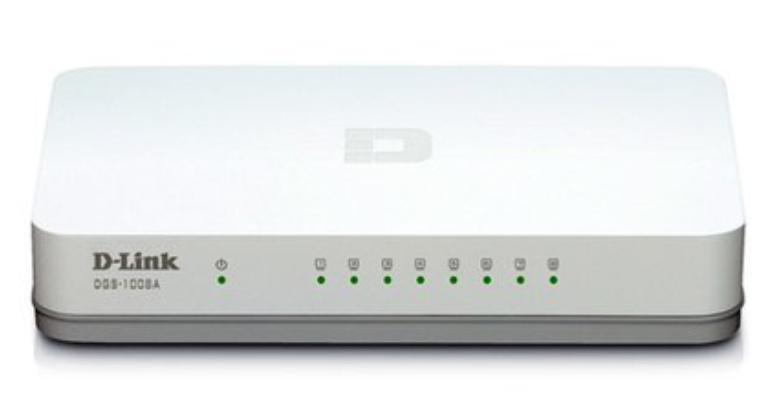 Switch Gigabit de 8 portas - DLINK
