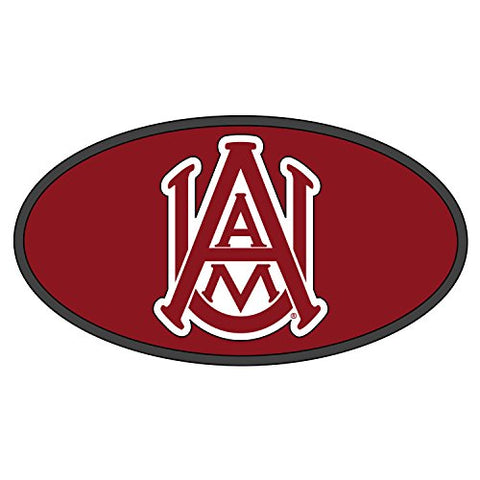 Alabama A&M Hitch Cover DOMED AAMU HITCH COVER