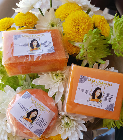 CARROT EXTRACT WHITENING FACIAL BAR