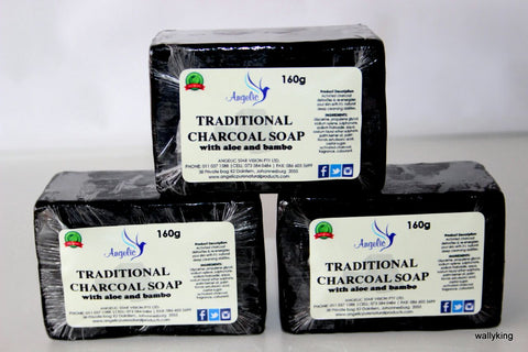 TRADITIONAL CHARCOAL SOAP