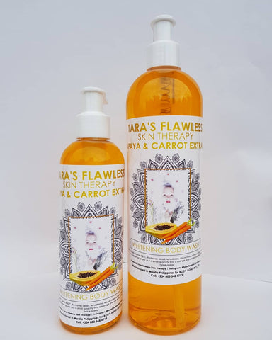 PAPAYA & CARROT  WHITENING BODY WASH