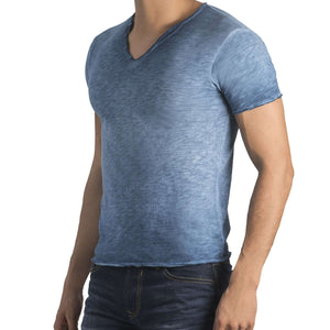 Camiseta degrade azul