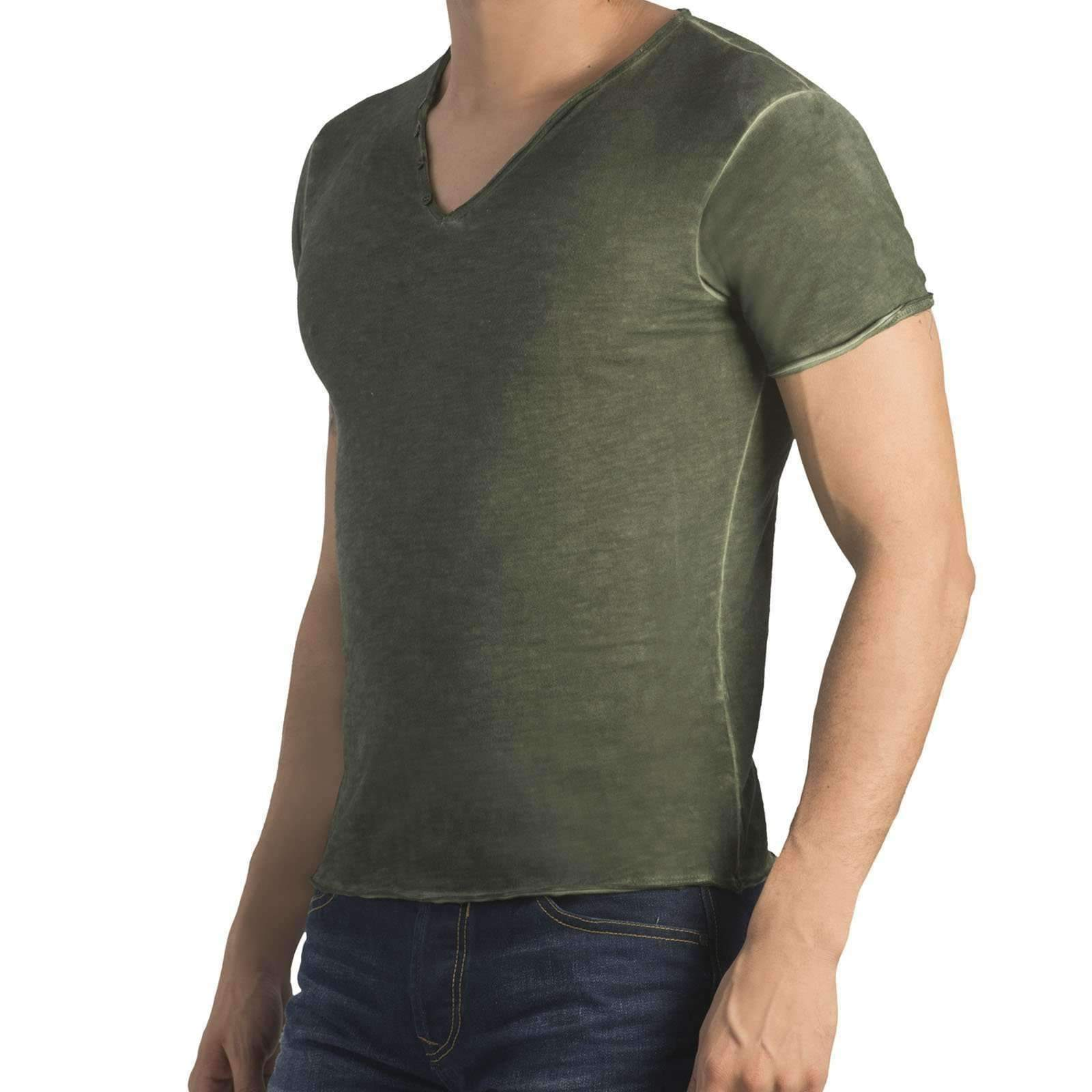 Camiseta degrade verde militar